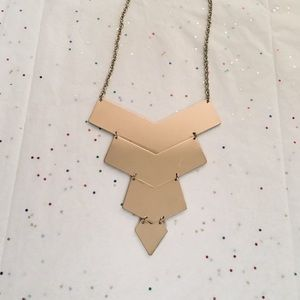 Jewelry - ✨Gold Triangle Statement Necklace